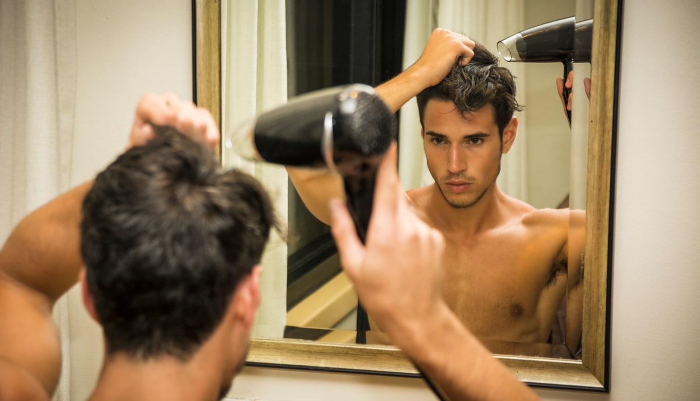 抜け毛予防に髪をしっかり乾かす